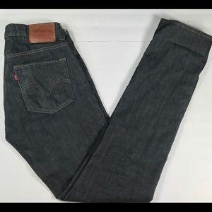 Levis Skinny 511 Original Black Jeans Men's 34X36
